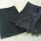 Czarna elegancka tiulowa spódnica spódniczka tiul