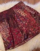 Cleo folkowa spódnica spódniczka rozkloszowana wzory wzór aztec...