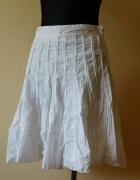 Atmosphere biała rozkloszowana spódnica 38...