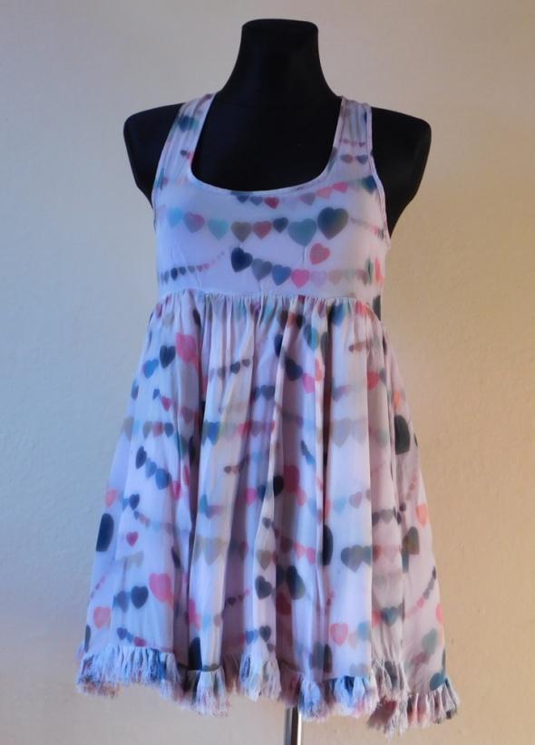 Topshop sukienka mini seruszka 34 36