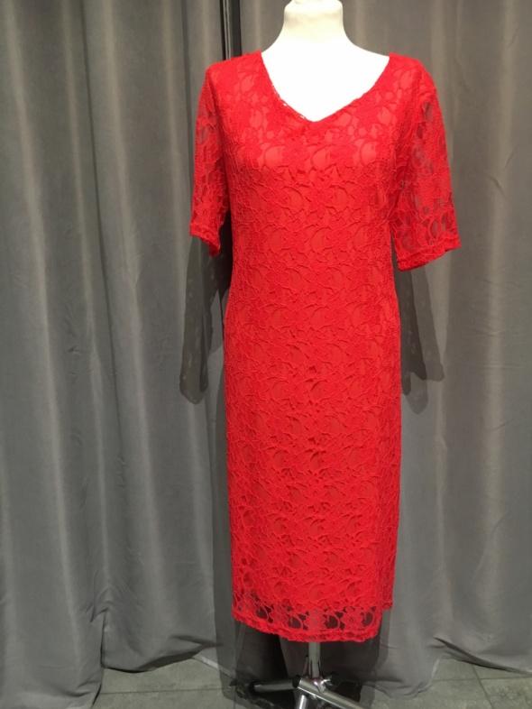 Sukienka nowa r46 malinowa...