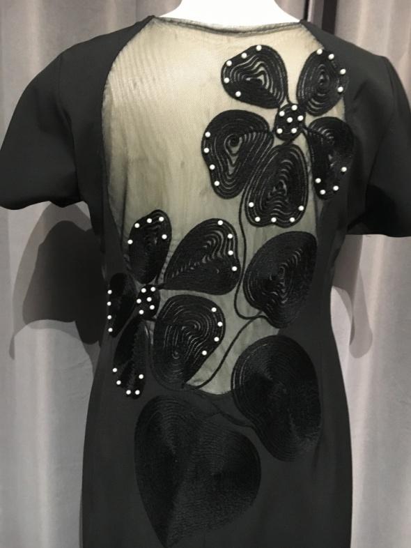 Sukienka nowa r44 czarny plecy...