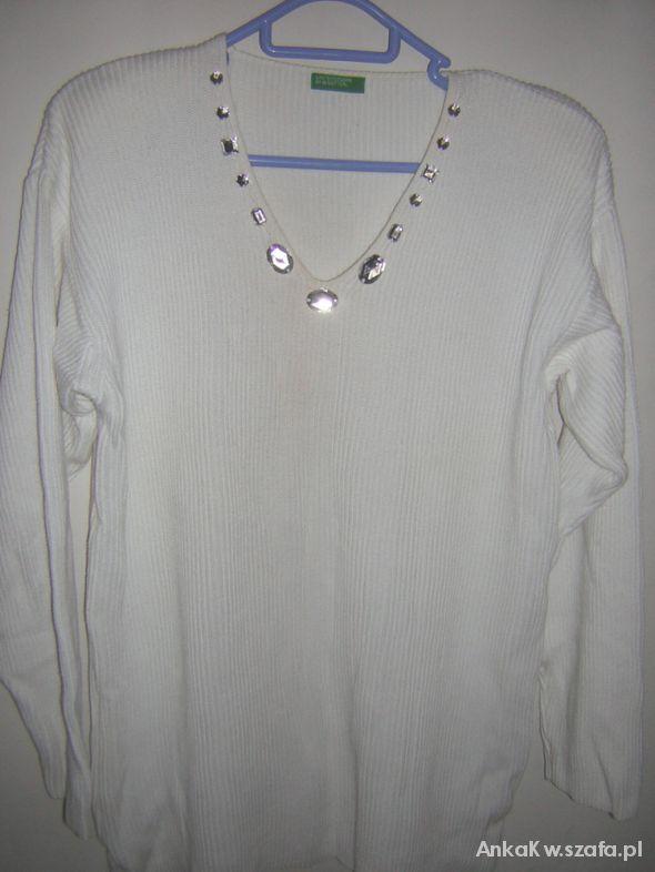 Swetry Oryginalny sweter tunika