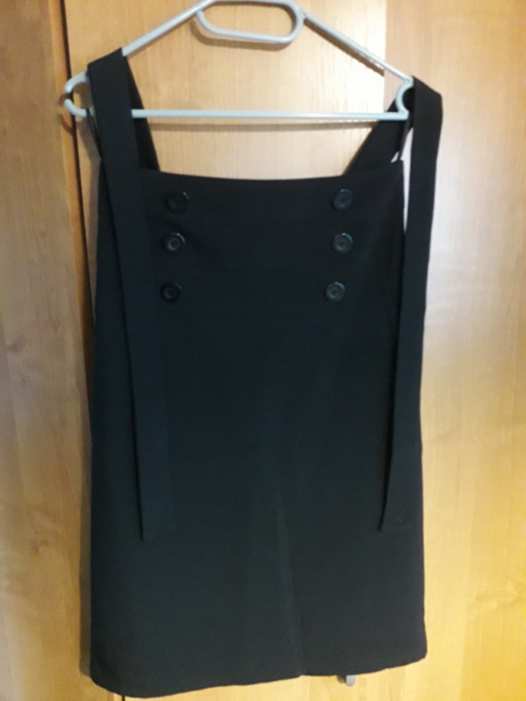 Spódnice czarna elegancka spódnica midi