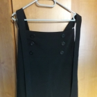 czarna elegancka spódnica midi