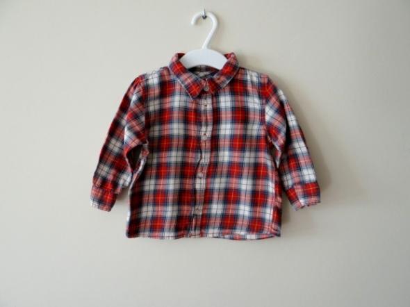 Koszula w kratkę rozmiar 80