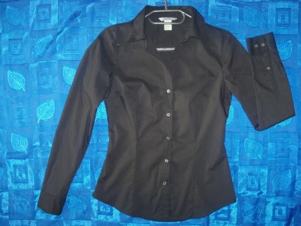 Czarna koszula H&M roz 36