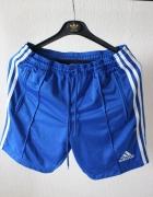 niebieskie szorty sportowe...