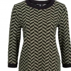 Sukienka z żakardowym wzorem prosta wygodna