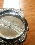 Izraelski zegarek piękny cyrkonie...