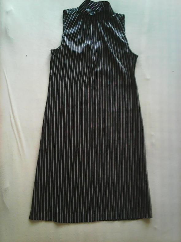 Sukienka h&m czarna bez rękawów
