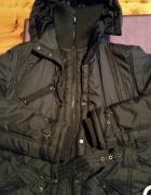 Zimowa kurtka płaszcz roz XL...