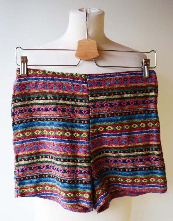 Spodenki Spodenki Wyższy Stan Azteckie Wzory Next Jeans L 40