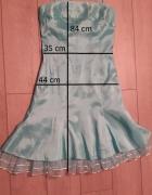 Sukienka turkusowa roz S 36...