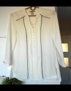 HM biała elegancka bluzka guziki...