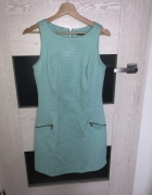 Sukienka rozmiar S Mohito miętowa...