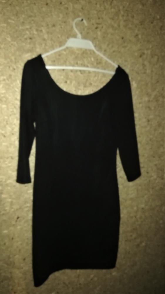 Reserved Mała czarna sexi sukienka 38...