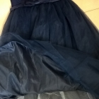 Piękna sukienka balowa xxs xs wesele sylwester studniówka półmetek tiul koronka