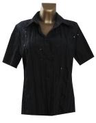 C&A Czarna Bluzka Koszula 44 XXL...