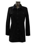 Czarna Bluzka Koszula XL XXL Bawełna...