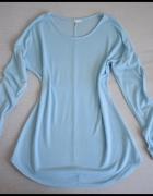 Błękitna tunika bluzka baby blue rozmiar 40 L...