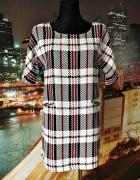 missguided sukienka luźny fason kratka hit 38 M