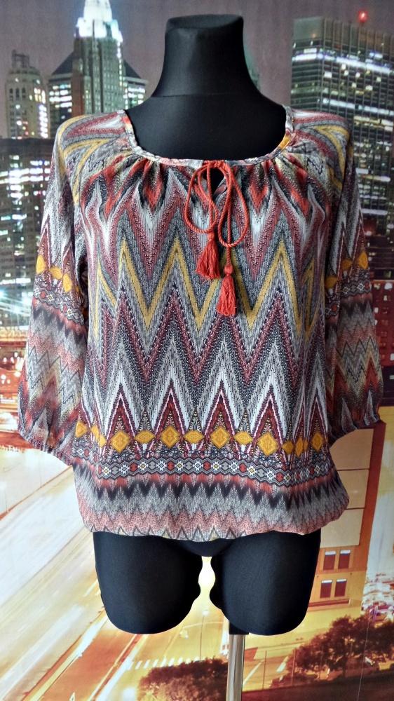 janina bluzka indiański styl wzory 36 S