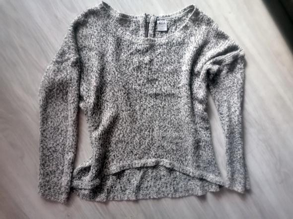 Sweterek asymetryczny zamek Vero Moda beżowy M...