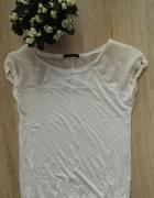 Bluzka biała Bershka rozmiar 36