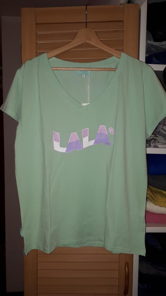 Nowa koszulka Plny Lala New Wave Vneck Pistachio