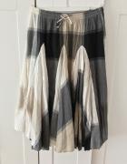 Indyjska rozkloszowana spódniczka spódnica rozkloszowana 44 xxl...
