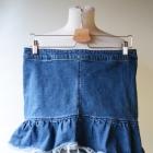 Spódniczka Jeans Dzins H&M XL 42 Falbanka