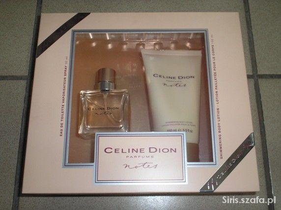Celine Dion Notes zestaw upominkowy