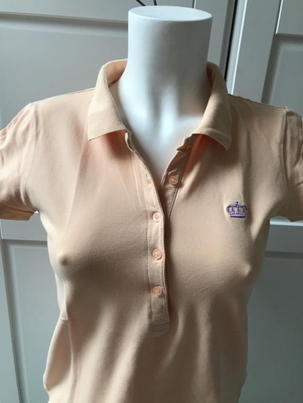 Koszulki Pomarańczowa koszulka polo rozmiar M