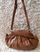 Brązowa mała torebka na ramię F&F torebeczka...