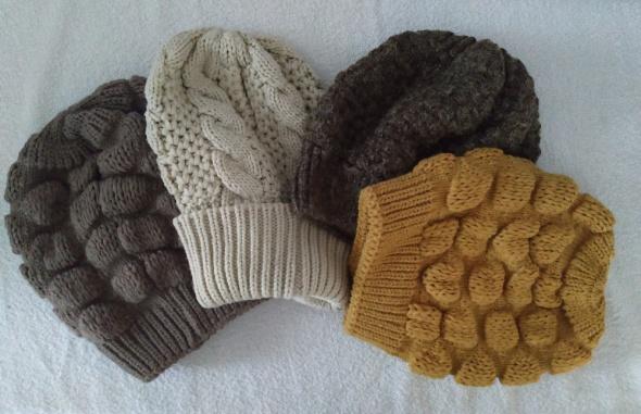 czapka zimowa beanie ciepła kolory