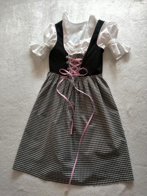 Bawarska sukienka bawełna 38 Trachtenpoint