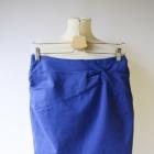 Spódniczka Kobaltowa H&M M 38 Wizytowa Niebieska Elegancka