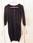 Czarna sukienka tunika only 36...