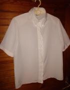 Biała bluzka z haftem Canda roz 40