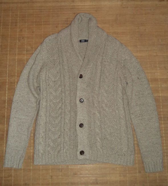 Sweter kardigan zapinany...