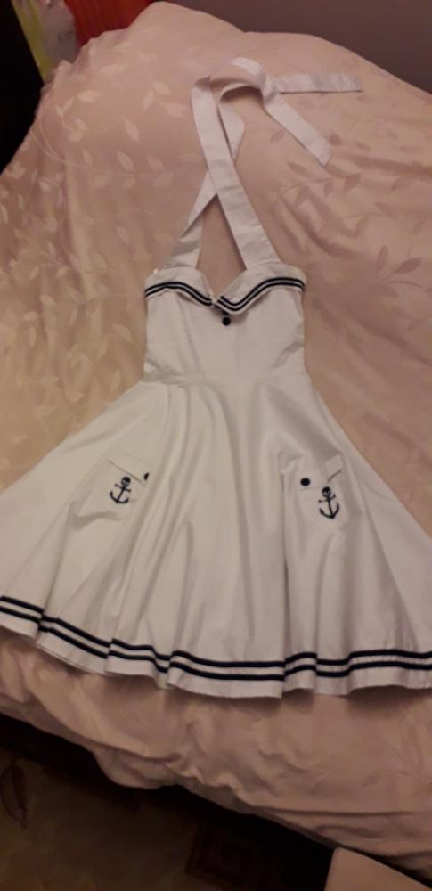 Sukienka marynarska Hell Bunny M...