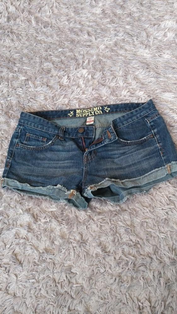 Spodenki Spodenki jeans szorty mossimo