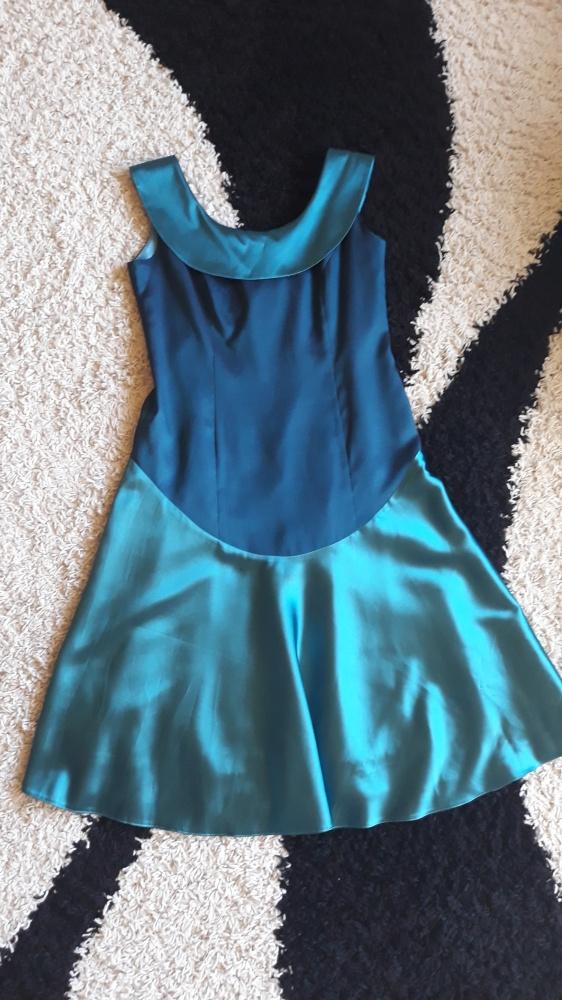 Suknie i sukienki Sukienka niebieska błyszcząca 42