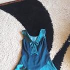 Sukienka niebieska błyszcząca 42