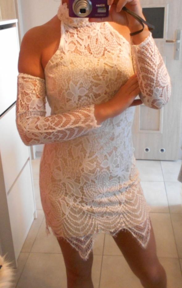 Love and Other things sukienka koronkowa bodycon...