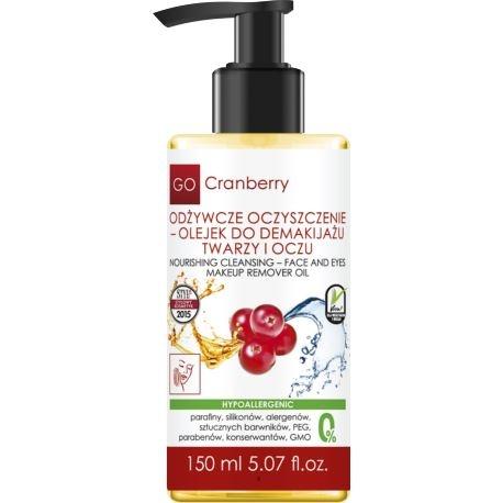 Olejek do Demakijażu Twarzy i Oczu Odżywcze Oczyszczenie Go Cranberry 150ml
