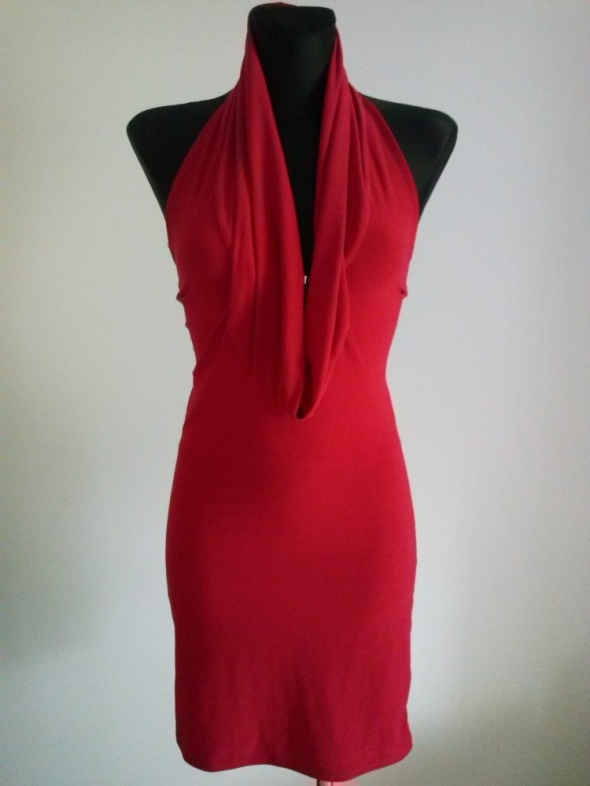 Suknie i sukienki Czerwona sukienka SM Kiah