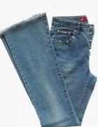 Niebieskie Super Jeansy r 36...