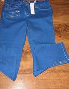 Niebieskie spodnie rozmiar 38